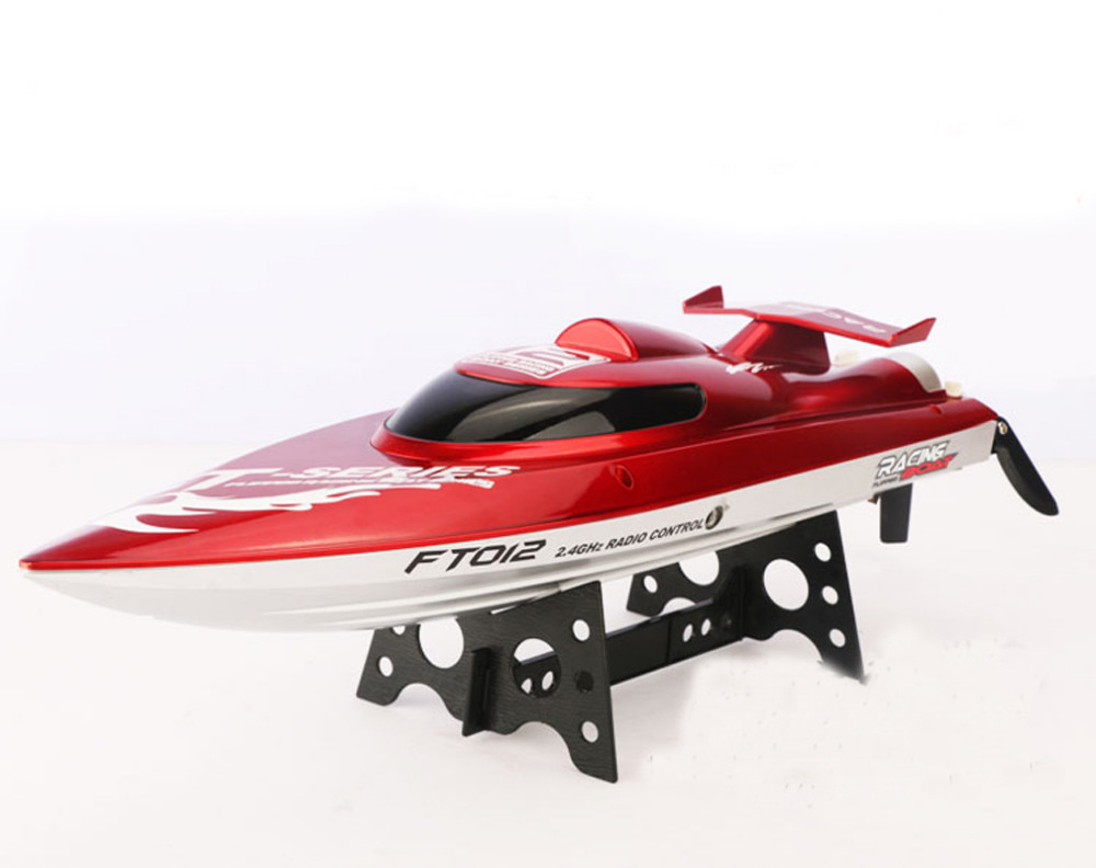 F15277 New FT012 2 4G Brushless RC Racing Boat RTR Speedboat Upgraded FT009 Red Black Choice