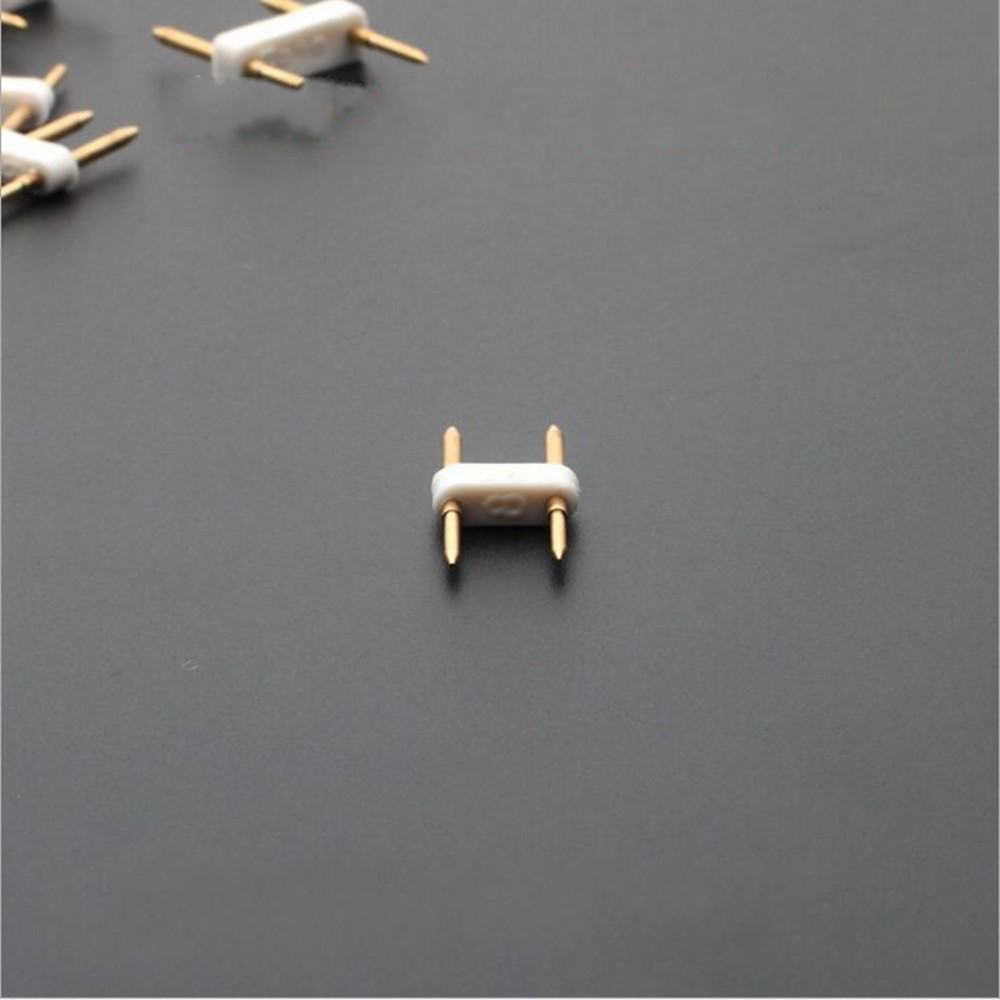 5pcs 2pin 4pin connector 220v 110v led strip 6mm 8mm 10mm 12mm needle Straight connector copper adapter Free shipping 5pcs 2pin 4pin connector 220v 110v led strip 6mm 8mm 10mm 12mm needle Straight connector copper adapter Free shipping