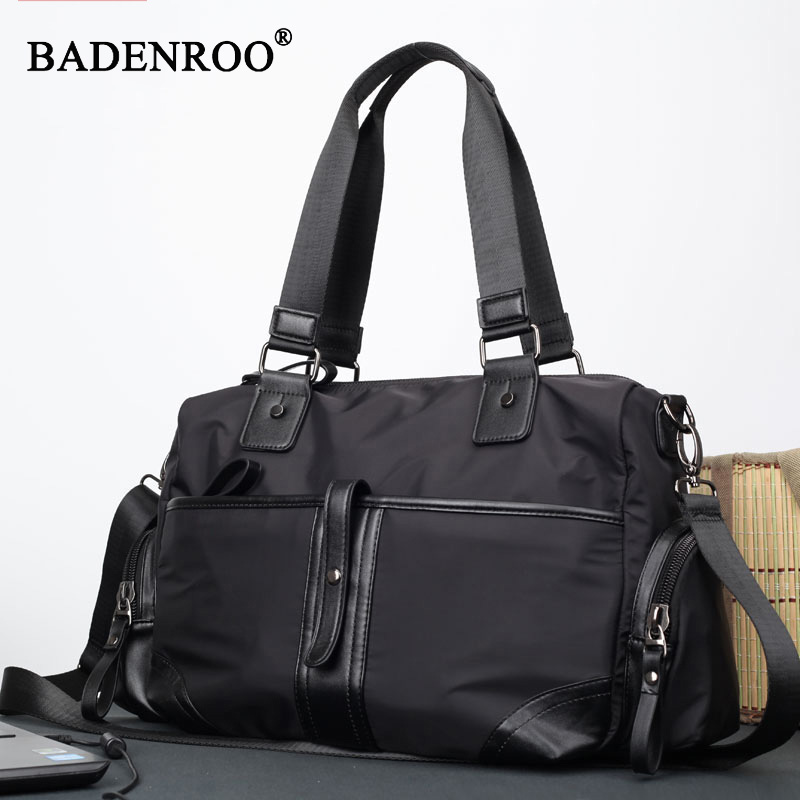 купить Fashion Men Travel Bags Men Handbags shoulder Bag Oxford High quality Large Capacity Men Zipper Bag New style Business Handbag по цене 2609.06 рублей