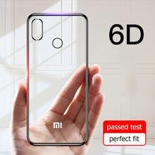 For Xiaomi Mi 8 Case 3D Laser Plating Luxury Soft TPU Clear
