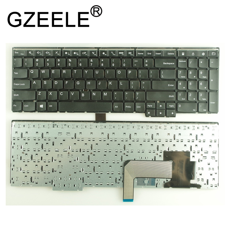 GZEELE New US keyboard for Lenovo E531 L540 W540 T540 T540P E540 W550 W541 no Backlight BLACK FOR IBM FOR Thinkpad E531 series плита e531 00001