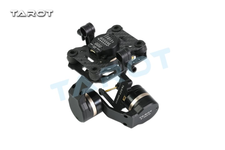 Tarot TL3T01 Update from T4 3D 3D Metal 3 axis Brushless Gimbal for GOPRO 4 3+3 FPV Photography F17391 - 5