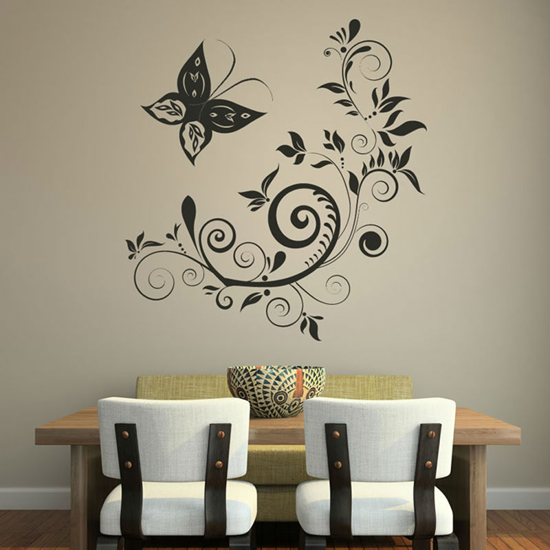 Wall Decoration Stickers popular swirl wall stickers-buy cheap swirl wall stickers lots