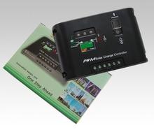 12V/24V PWM 10A Auto Distinguish Solar Charge Controller