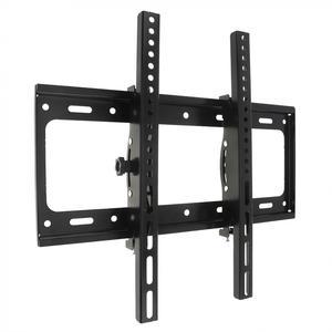 Image 4 - 50KG מתכוונן טלוויזיה וול הר Bracket טלוויזיה שטוח מסגרת 15 מעלות הטיה עם רמת עבור 26   52 אינץ LCD LED צג שטוח פאן