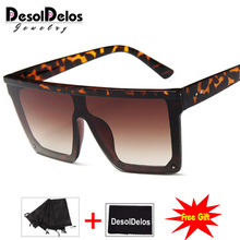 Oversize Square Sunglasses Men Brand Fashion One Piece Cool Sun Glasses for Driving Male Oulos Masculino Gafas Hombres cagy d oulos love by definition