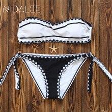 Fashion Women's Swimming Suit Teenage Girl Straps Shell Printing Bikini Swimsuits Swimwear Women