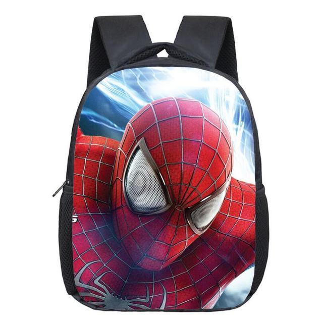 88016c9b79 Comics Hero Spiderman Backpack Children Super Hero spider Man School  Backpacks Boys Cartoon Superman Kids Students School Bags
