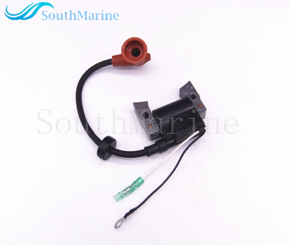 Boat Motor Ignition Coil Assy F2.6-04000600 For Parsun HDX 4-Stroke F2.6 F2.6BM Outboard Engine, High Pressure Coil