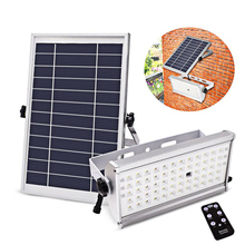 65 Led Solar Light Super Bright 1300LM 6W/12W Spotlight Wireless Outdoor Waterproof Garden Power Lamp With Rremote Control