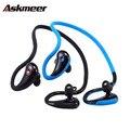 Estéreo inalámbrico bluetooth 4.1 auriculares deportivos auriculares anti-sudor corriendo auriculares con micrófono de manos libres de llamadas para iphone xiaomi huiwei