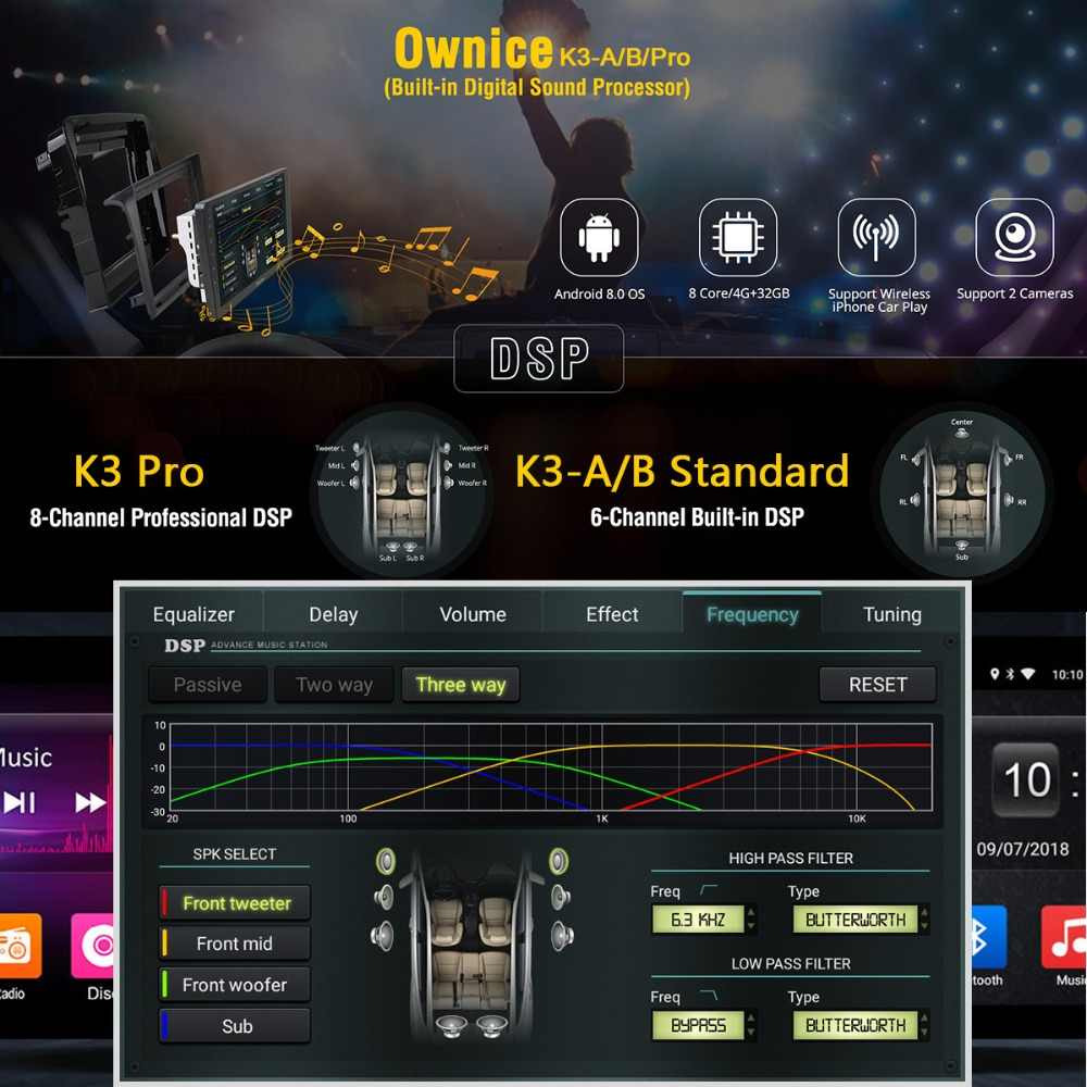 "8 ""ips Android 9,0 Octa Core 4 Гб оперативная память + 32 встроенная DVD плеер автомобиля для Toyota Alphard 2011 2012 gps ADAS Радио стерео DSP CarPlay"