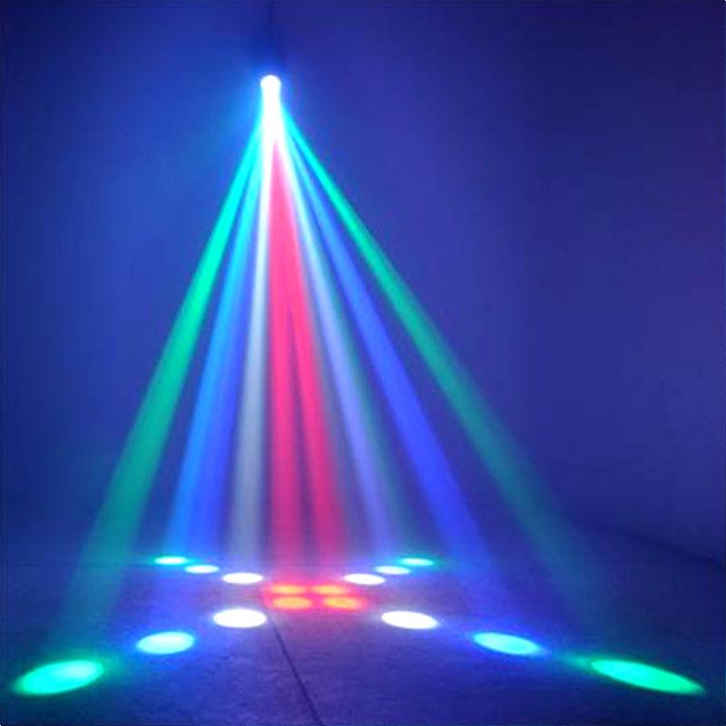 TRANSCTEGO Zvočne luči DJ Disco Light LED-svetilke z lasersko - Komercialna razsvetljava - Fotografija 5