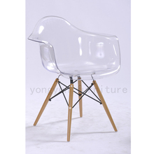 Dining Room Furniture for Home Table Casual Plastic dining chair negotiation table and contracted leisure chairs transparent(China)