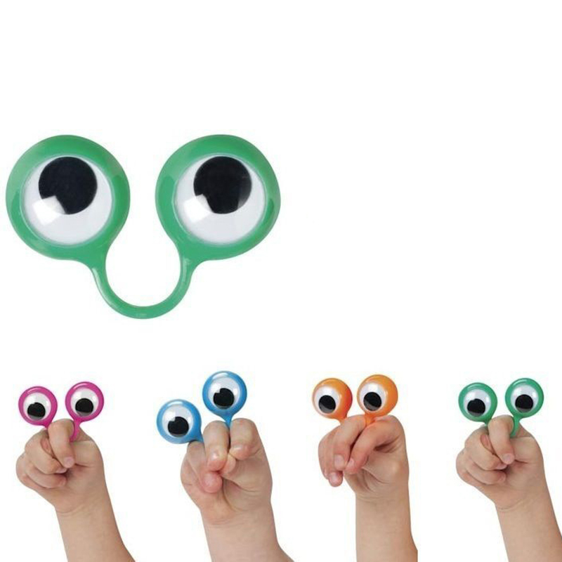 Novelty & Gag Toys Analytical 30pcs/set Newest Creative Gags Practical Jokes Novelty Hand Puppets Funny Eyes Anti Stress Toys For Kids Children Christmas Gift 2019 Latest Style Online Sale 50%
