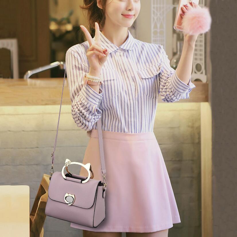 Luxury Small Women Messenger Bags For Girls Shoulder Flap Bag Women Fashion Meow Crossbody Bags Ladies Shopping Bag Girl