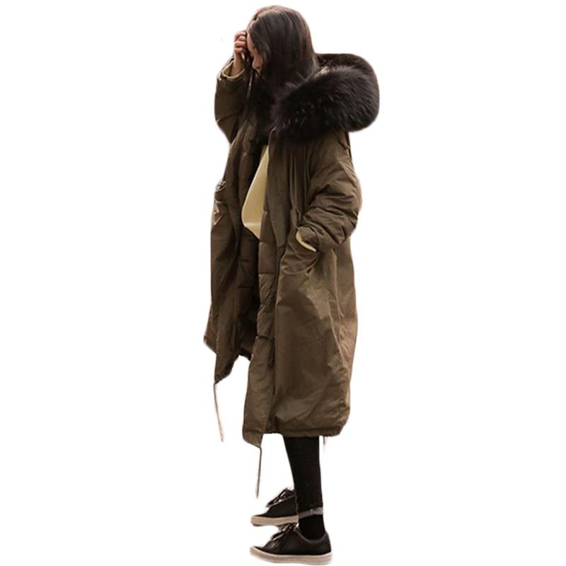 Grandi Spessore Poncho Xh1006 S Donne Femmina Cotone 2019 Delle Nuovo Il Fur Faux In Con Parka Dell'esercito Cappotto Dimensioni Giacca Nero Coulisse Del Lungo Sciolti Di Inverno verde xxl Cappuccio grigio ZZwP1qxU4