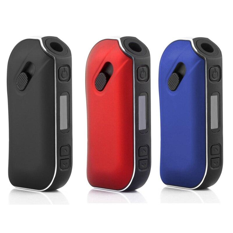 Herbe sèche SMY Pluscig P2 affichage de LED contrôle de température intelligent 1300 mAh batterie Ecig Vape Box Mob vaporisateur adapté aux bâtons de protection