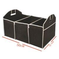 Автомобильный Органайзер черный багажник Складные Игрушки еда хранение грузовик грузовой контейнер сумки коробка автомобильный инструме
