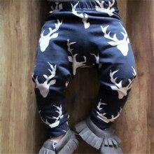 Autumn Baby Pants Toddler Infant Baby Boy Girl Deer Bottom Pants Leggings Harem Pants Trousers Baby Clothing