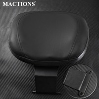 Motorcycle Front Driver Rider Backrest Sissy Bar Cover Pads Seat For Honda Shadow VT400 VT750 VT 400 750 1997 2003 1998 1999