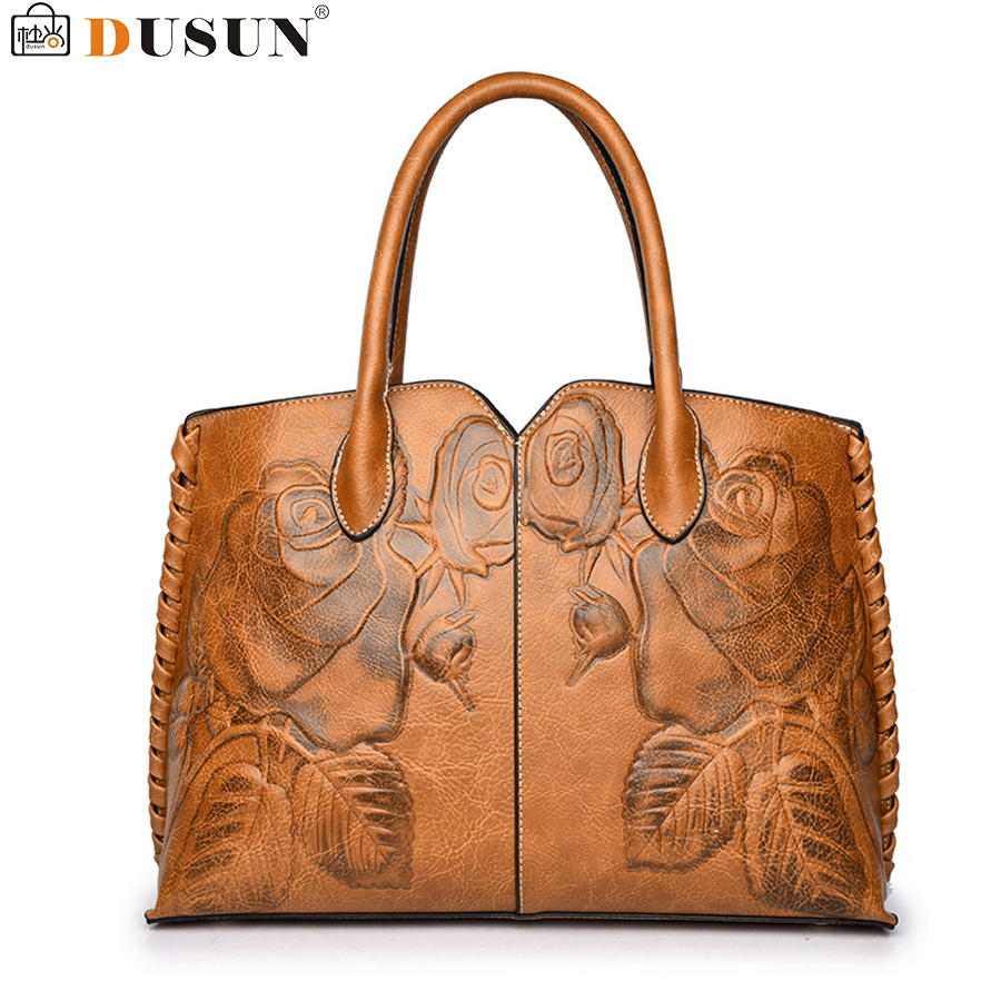 DUSUN Embroidery Floral Handbag Women Vintage Messenger Bags Ladies Brand Designer Shoulder Bag Female Luxury Bolsa Feminina Sac dusun embroidery floral handbag women vintage messenger bags ladies brand designer shoulder bag female luxury bolsa feminina sac
