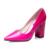 2017 Nueva Marca de Moda Grueso Tacones punta estrecha de la Mujer zapatos Sexy Tacón Cuadrado Bombas Mbt zapatos de mujer Gradiente de Color Azul púrpura