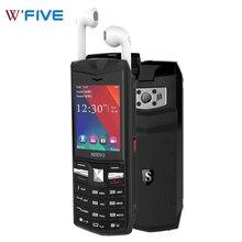 SERVO R26, 2,4 дюймов, две sim-карты, 3000 мА/ч, Дополнительный внешний аккумулятор, мобильный телефон с Bluetooth 5,0 TWS, беспроводные наушники, GSM мобильный телефон