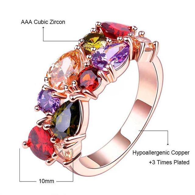 2019 New Authentic Crystal from Swarovski Mona Lisa finger Women Fit Original Wedding jewelry jewelry Fine ring