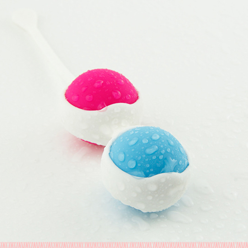 Vaginal Exercise Removable Silicone Ben Wa Balls Vagina Tightening Kegel Exerciser Vibra ...