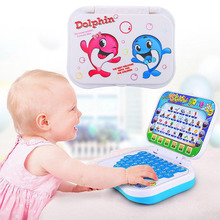 English Learning Machine Toy Baby Kids Pre School Educational Toy Computer Baby Kids Pre School Educational Study Laptop Game стоимость