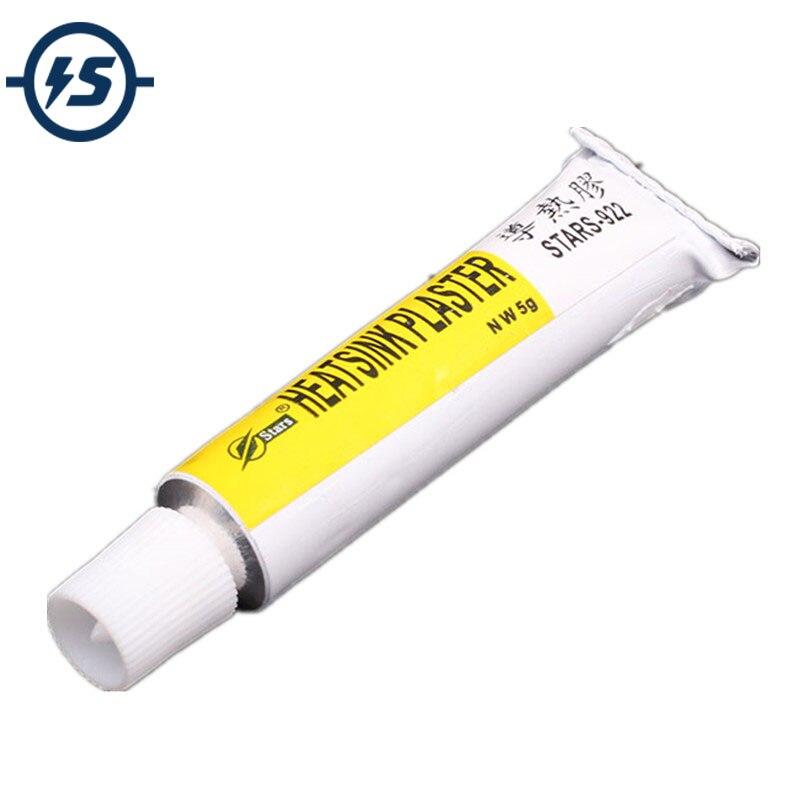 2 pièces STARS-922 dissipateur thermique plâtre thermique Silicone adhésif pâte de refroidissement forte adhésif composé colle pour dissipateur de chaleur collant ST922