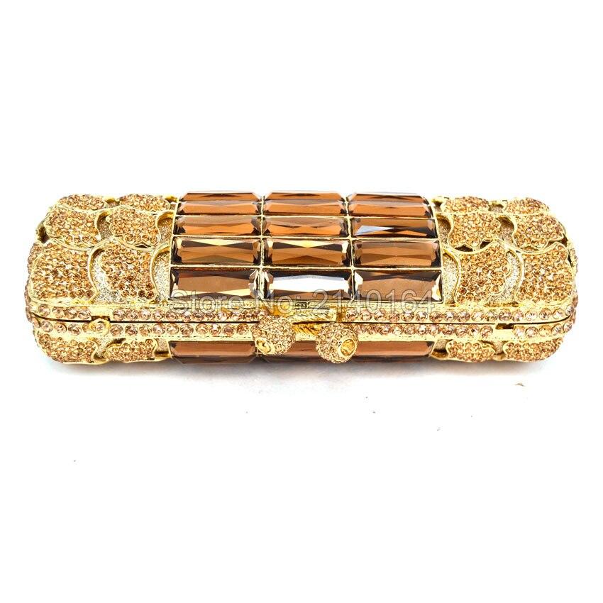 Mode Sacs Embrayage Avec Femmes Gold Marque D'or Sac Cristal 88676 Soirée Designer silver Célèbre Chaîne La De Longue EYdxPqE