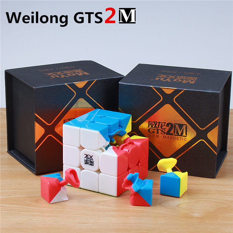 57mm 3x3x3 moyu weilong gts puzzle magie viteză cub cubo magico - Jocuri și puzzle-uri - Fotografie 6