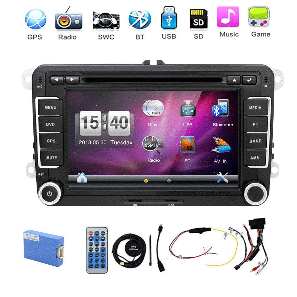 இ2 Din Car Dvd Player Gps Navigation Autoradio 7 Inch For