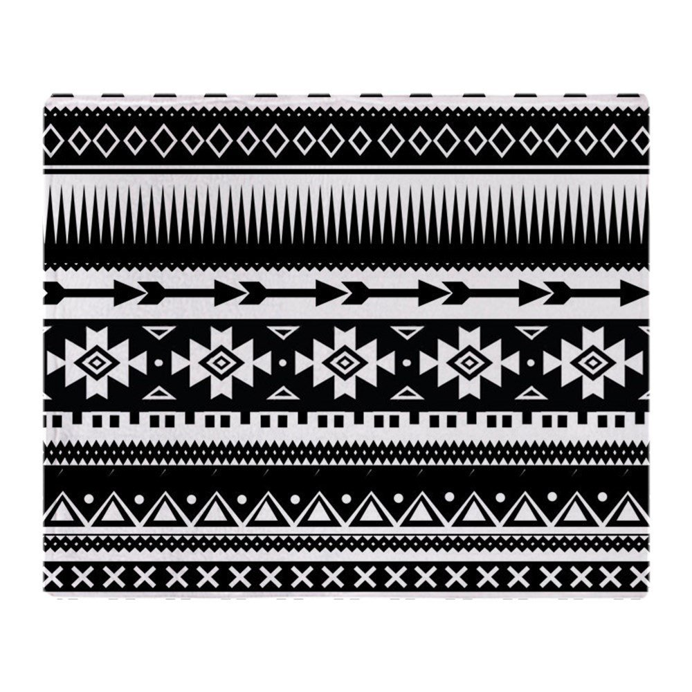 25e07a0ae Tribal Aztec Geometric Soft Fleece Throw Blanket Solid 350G Thicker Blankets  on Sofa/Bed Throw Blanket-in Blankets from Home & Garden on Aliexpress.com  ...