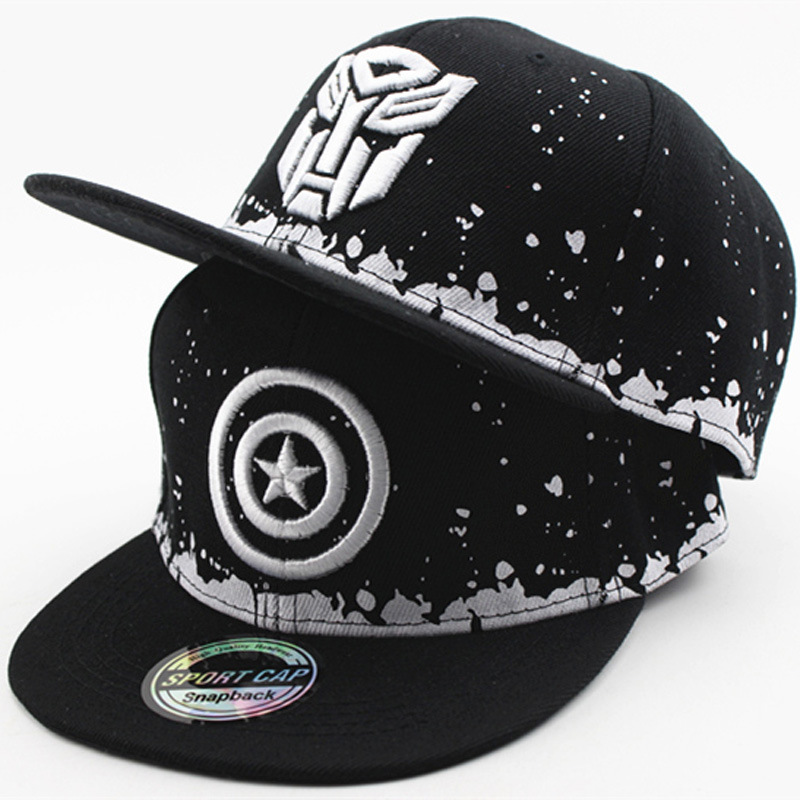 2017 new cartoon baby boy and girl children's hip-hop Snapback Caps baseball caps hat summer outdoor shade hip hop hat beanies spaceman trucker cap men dad hat snapback baseball caps summer hip hop black embroidery cotton sun hats for women casual visor