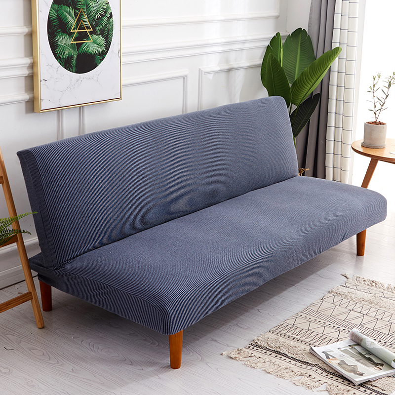 stylish sofa arm covers | Solid Color Universal Stretch No handrail Sofa Bed Covers ...