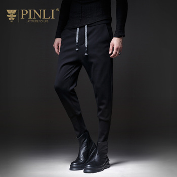 Sweatpants Pinli Product Made Fall 2018 New Men's Cultivate Morality Leisure Trousers Velvet Thickening And Feet B183317616