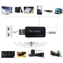 Bluetooth Передатчик и Приемник Беспроводной Аудио Музыка Передатчик A2DP Музыка Стерео Dongle Адаптер Для ставку ТВ Mp3 Mp4 ПК