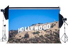 Hollywood toile de fond Nature paysage décors montagnes altérées Jungle forêt arbres bleu ciel printemps photographie fond