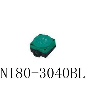 Inductive Proximity Sensor NI80-3040BL 2WIRE NC DC6-36V Detection distance 40MM Proximity Switch sensor switch 30mm capacitive proximity sensor switch nc 25mm detection distance ljc30a3 h j dz 2 wire ac90 250v mounting bracket