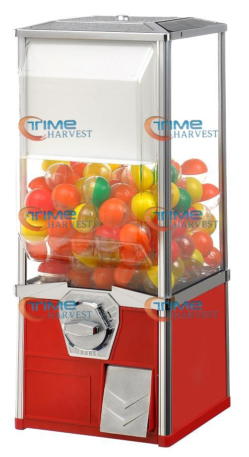 High Quality Coin Operated Slot Machine for Toys and Candy Vending Cabinet Capsule toys vending machine Big Bulk Toy Vendor good quality coin operated tabletop gumball vending machine desktop capsule vending cabinet toy penny in the slot coin vendor