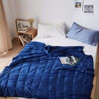 100% Cotton Weighted Blanket Gravity Sleep Aid Pressure Blanket Decompression Blanket Insomnia bedspread blanket