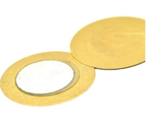 10 Pcs 20mm Thickness 0.33mm Copper Piezo Disc For Buzzer Pressure Sensor Speaker DIY Electronic