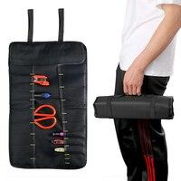 DIYWORK Folding Tool Organizer Bag Car Storage Bag Red Oxford Fabric Trunk Bags Multifunction Stowing Tidying