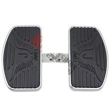 цена на Rear Passenger Footboard Floorboard for Yamaha Dragstar Vstar XVS1100 Kawasaki Vulcan Drifter VN1500 (20cm)