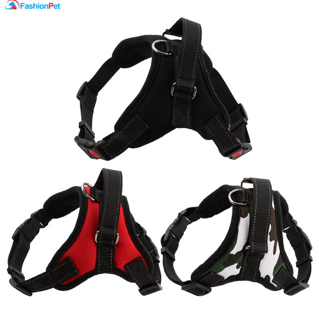 High Quality Comfortable Mesh Pet Harness Breathable Big Medium Dog Pet Vest Harness S-XL