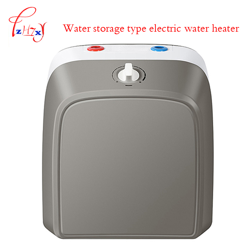 Home Use Electric Water Heater Small Tank Storage Water Heater  ES6.6FU Household Kitchen Hot Water Vertical Type 1pc