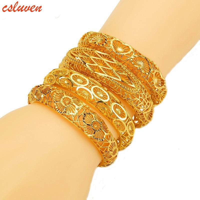 Ethiopian Jewelry,Inverted mold jewelry Gold Color Dubai
